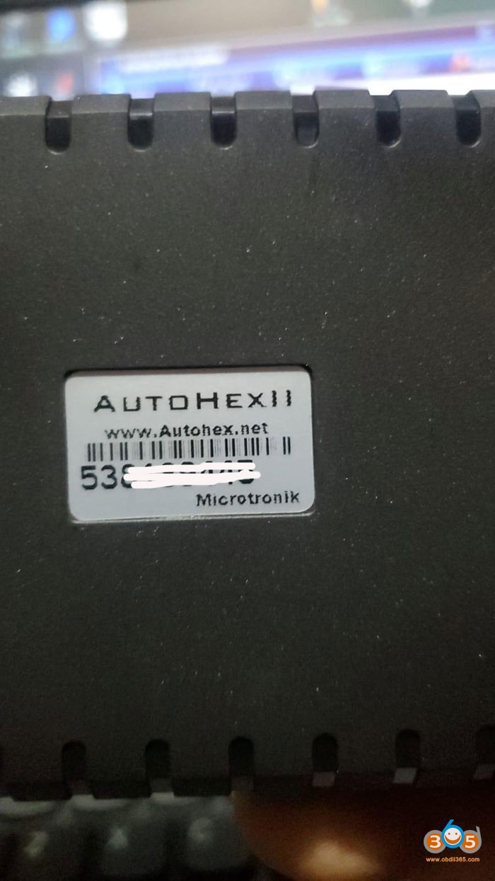 Autohex Ii Function Disabled 3