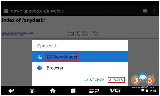 Download Anydesk To Obdstar 3