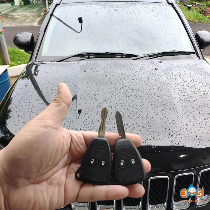 Obdstar Jeep Compass 2013 Key 1