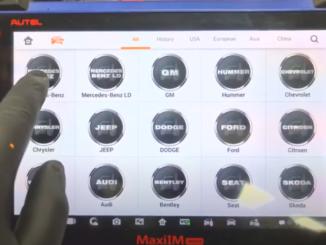 Autel Im608 Mb Test Tool W209 W211 Password 11