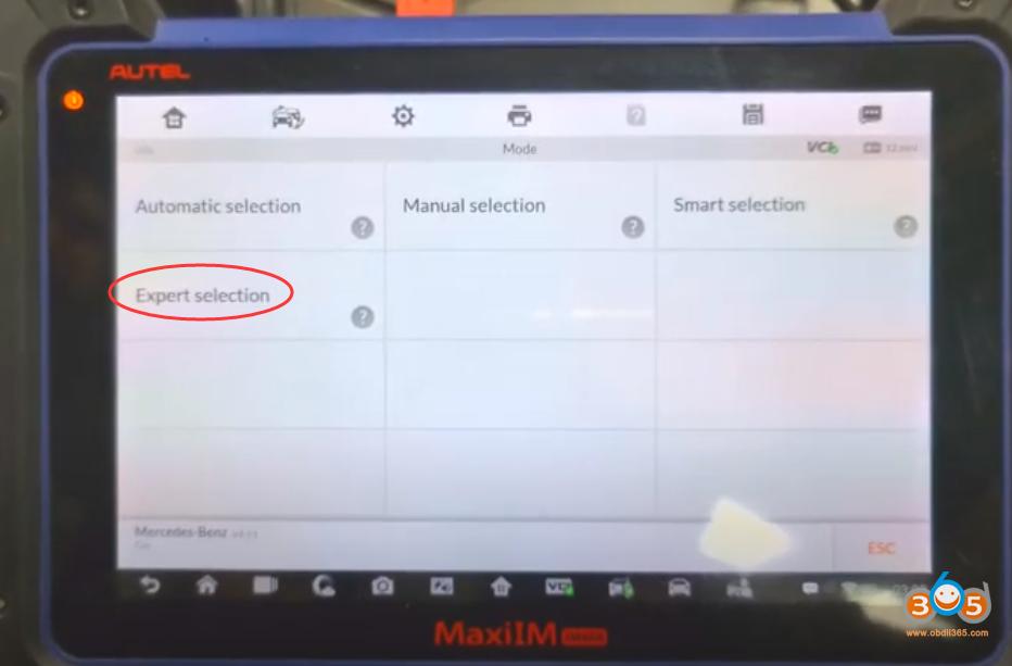 Autel Im608 Mb Test Tool W209 W211 Password 12