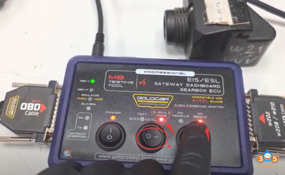 Autel Im608 Mb Test Tool W209 W211 Password 17