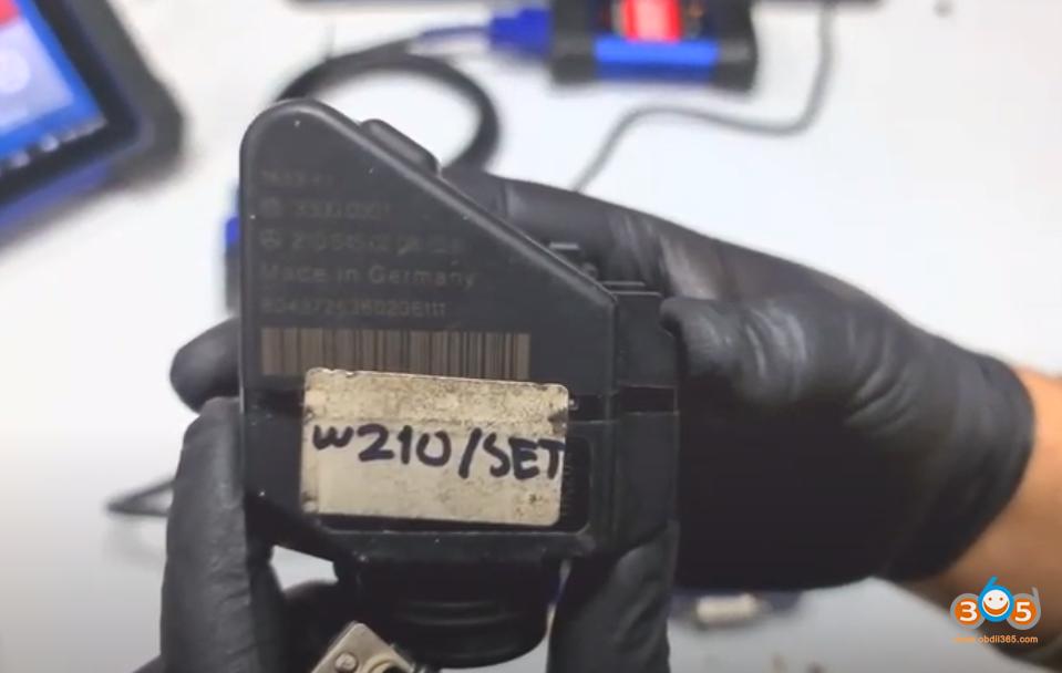 Autel Im608 Mb Test Tool W209 W211 Password 6