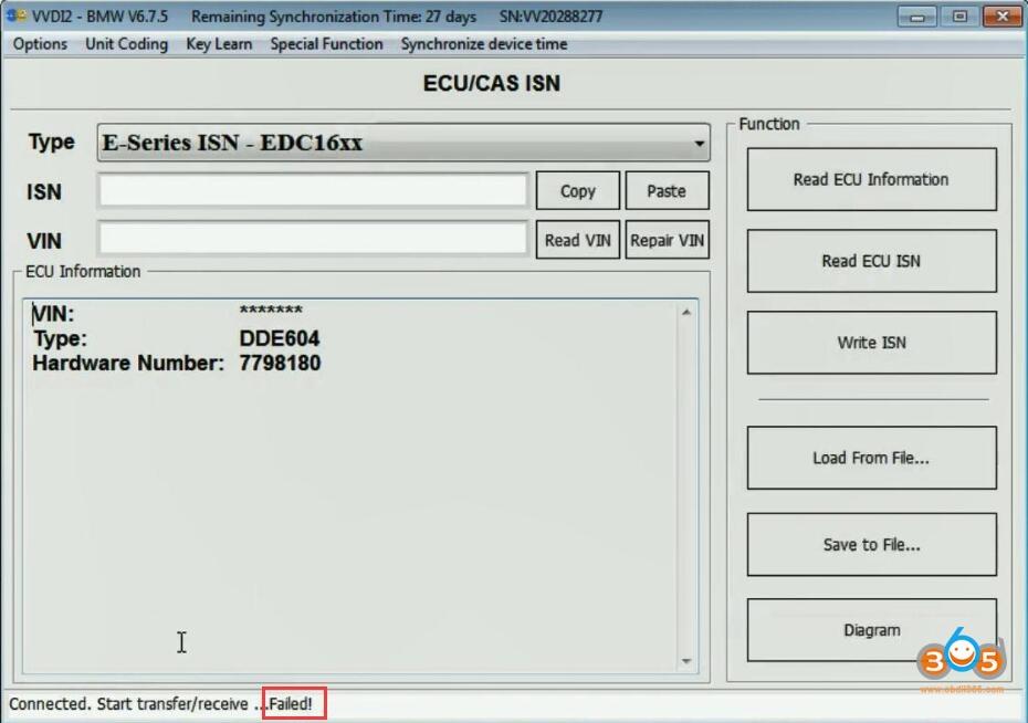Read Isn Edc16c35 Vvdi2 10