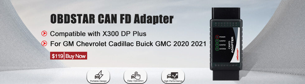Obdstar Can Fd Adapter