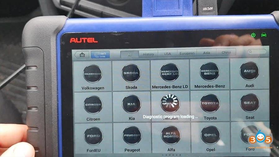 Autel Maxiim Im508 Skoda Octavia 2013 All Keys Lost 04