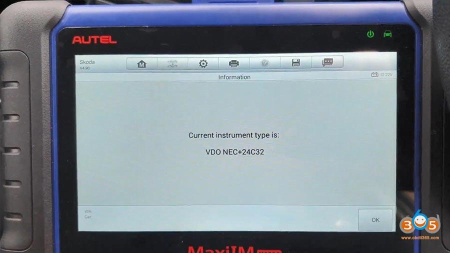 Autel Maxiim Im508 Skoda Octavia 2013 All Keys Lost 08