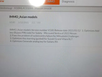 Im608 Update 2021 Nissan