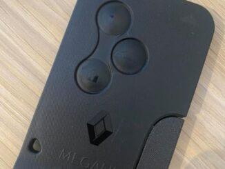 Renault Megane 2003 Key