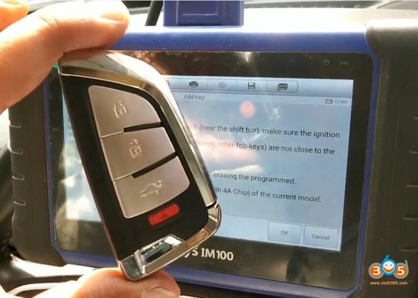 Autel Im508 Jeep Na Compass Immo 12