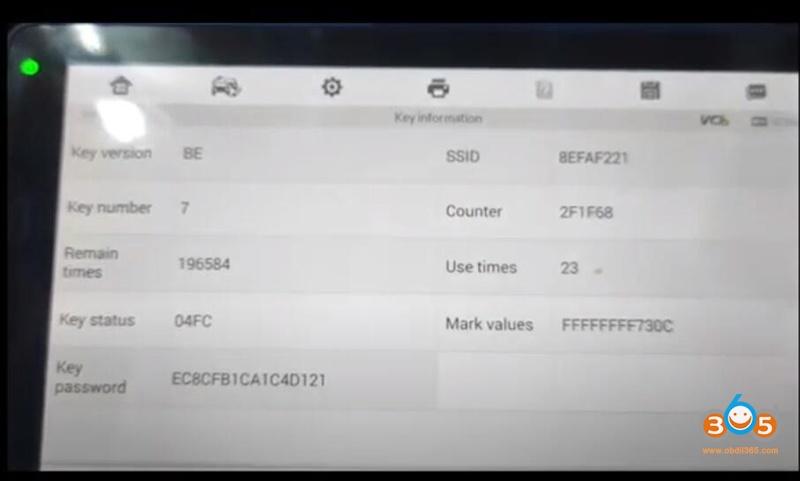 Autel Im608 Renew Benz Be Key 9