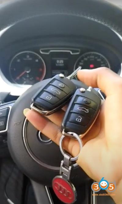 Obdstar X300 Pro4 Audi Q3 2013 Add Key 1