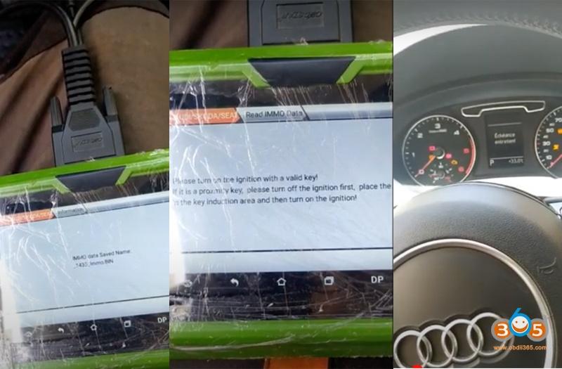Obdstar X300 Pro4 Audi Q3 2013 Add Key 5