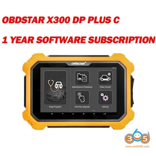 03 Obdstar X300 Dp Plus Error Code 101