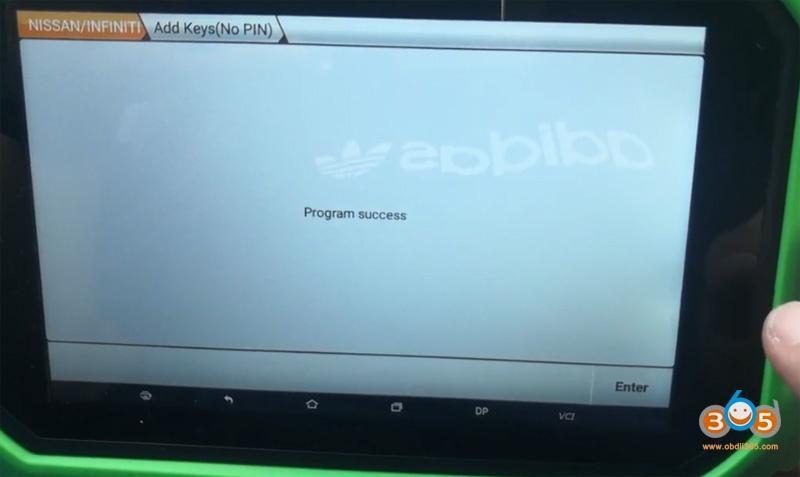 Obdstar Nissan Sylphy B18 Proximity 20