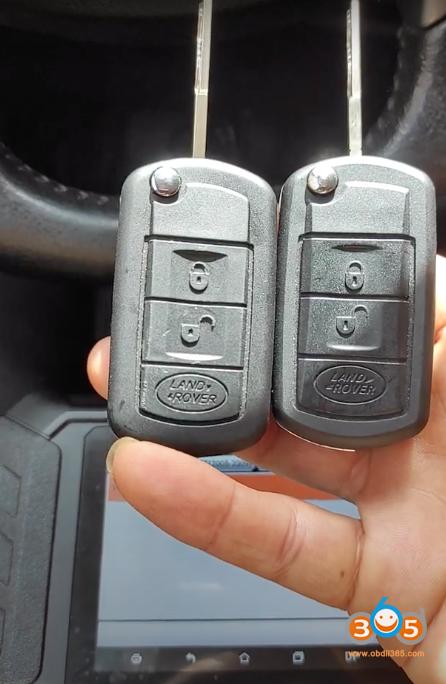 Obdstar Land Rover 2007 Add Key 1