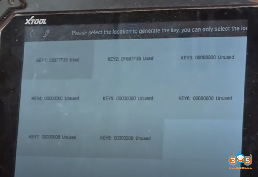Xtool X100 Pad2 Landrover 2014 Smart Key 16