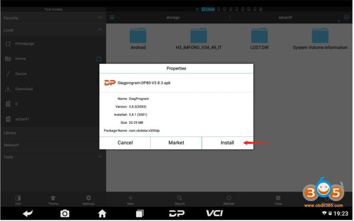 Install Obdstar X300 Dp Plus Apk 4