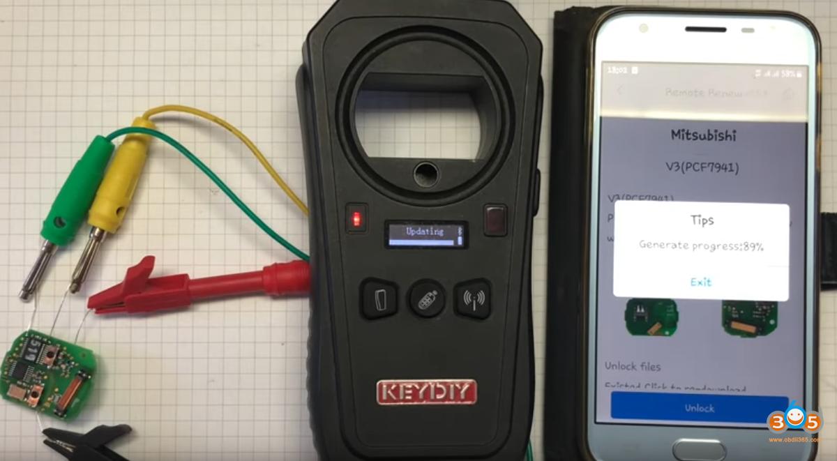 Keydiy Kx X2 Unlock Smart 454 Key 11