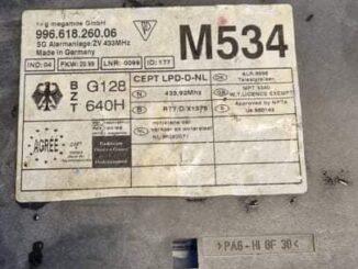 Porsche 911 1999 Write Key 1